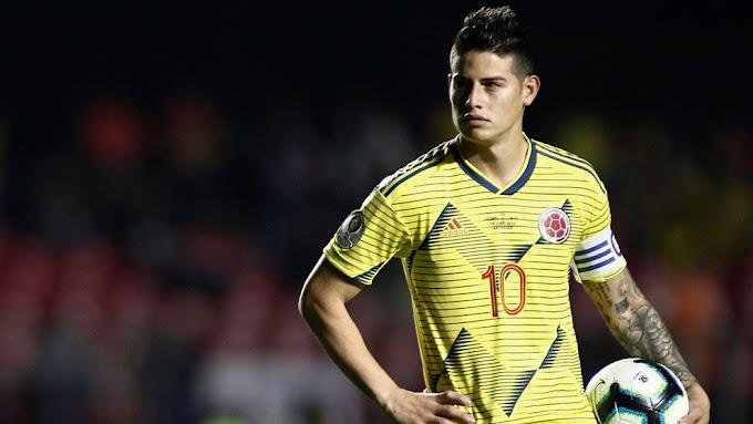 """Nueva 'pataleta' de James Rodríguez, quien enfiló 'baterías' contra el técnico de la Selección Colombia: """"Me faltaron el respeto"""""""