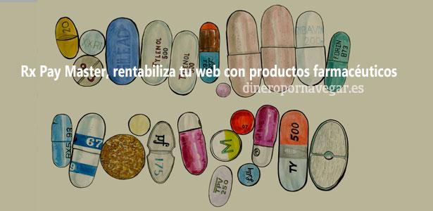 Rx Pay Master - Inserta publicidad de productos farmaceuticos en tu web