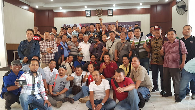 Bupati Asahan Coffe Morning Bareng Wartawan,Rencana Akan Ajukan Permohonan Pelepasan HGU