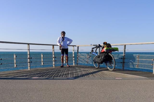 De Paris à Narbonne en vélo, Sète la corniche