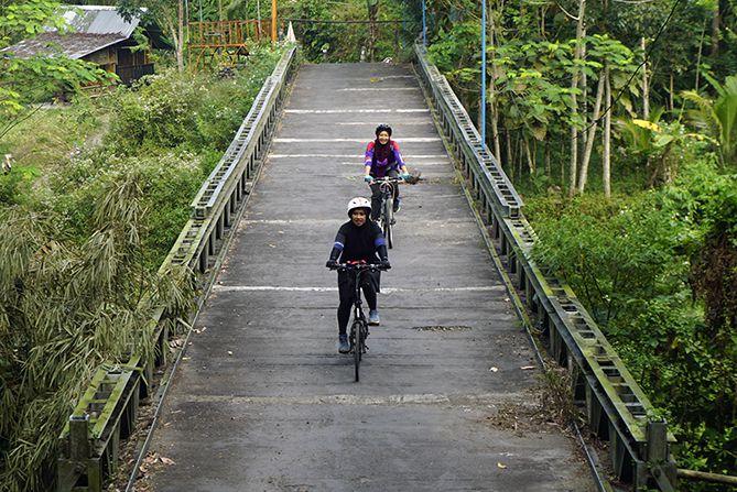 Jembatan di Desa Wisata Pentingsari