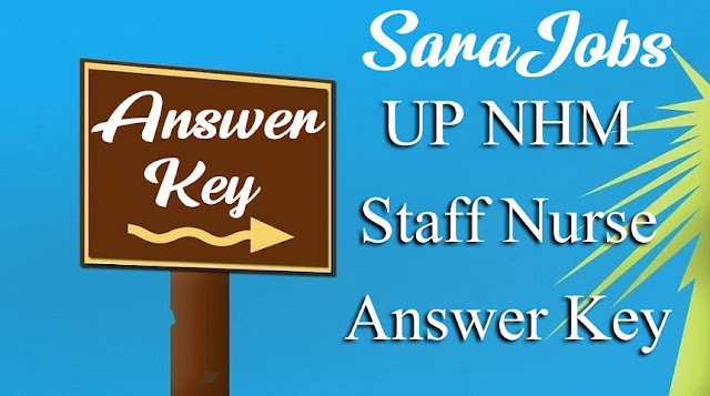 UP NHM Staff Nurse Answer Key