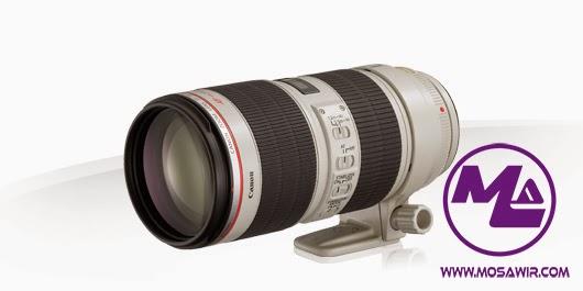 عدسة كانون: EF 70-200mm f/2.8L IS II USM