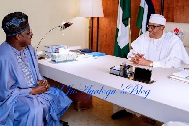 Installation of Kings: No plan to depose Olubadan, Ajimobi tells Buhari