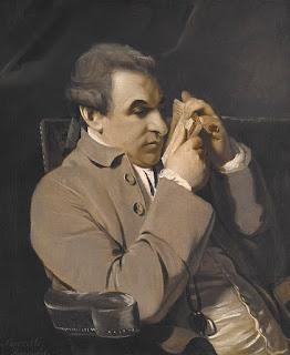 A portrait of Giuseppe Baretti by the English  painter Joshua Reynolds