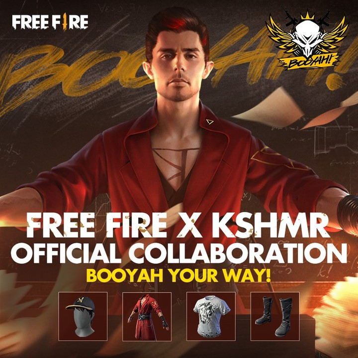 kshmr and freefire new song and characters