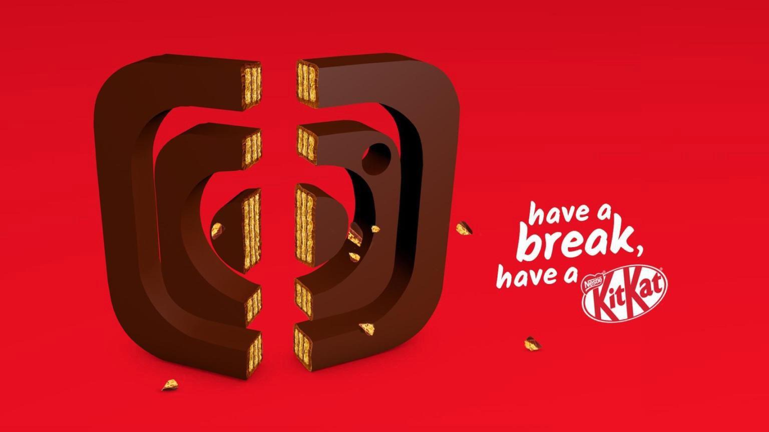 KitKat: Have a break from the social media