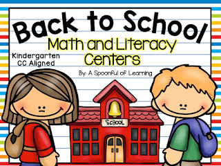 Back to School Centers and How to Introduce