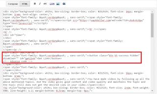 Safelink Blogger Template Customize