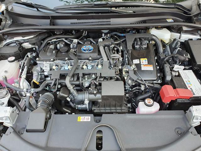 Novo Corolla 2020 Híbrido - motor híbrido