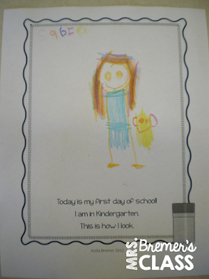 First Day of School Activities for Kindergarten