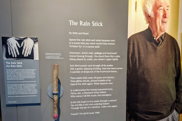Dublin History: Seamus Heaney: Listen Now Again Exhibit