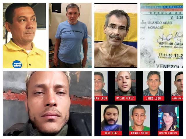 ¡IMPACTANTES CASOS! Las muertes de dirigentes, activistas y líderes adversos al chavomadurismo que han conmocionado al país (Fotos)