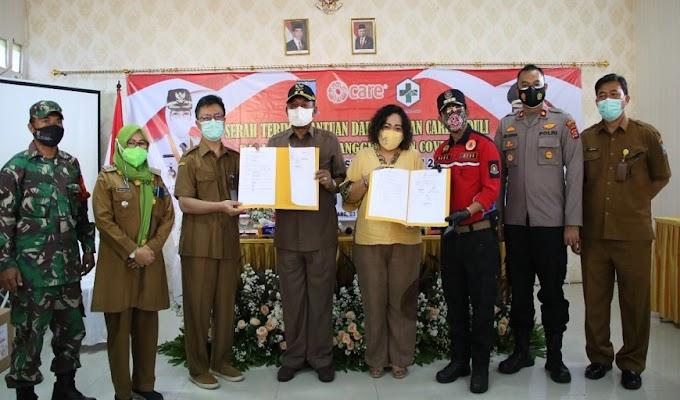 Yayasan Care Peduli Bantu Tenda Pasien untuk 4 Puskesmas di Kabupaten Serang