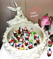 Dollar Tree mini figurines collection gnomes elves fairies Santa squirrels turtles