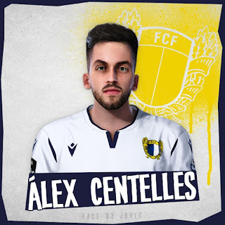 PES 2020 Faces Alex Centelles by Jovic