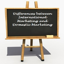 Differences between International Marketing and Domestic Marketing