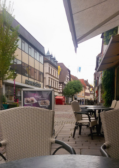 knajpa, restauracja, Bretten, Niemcy