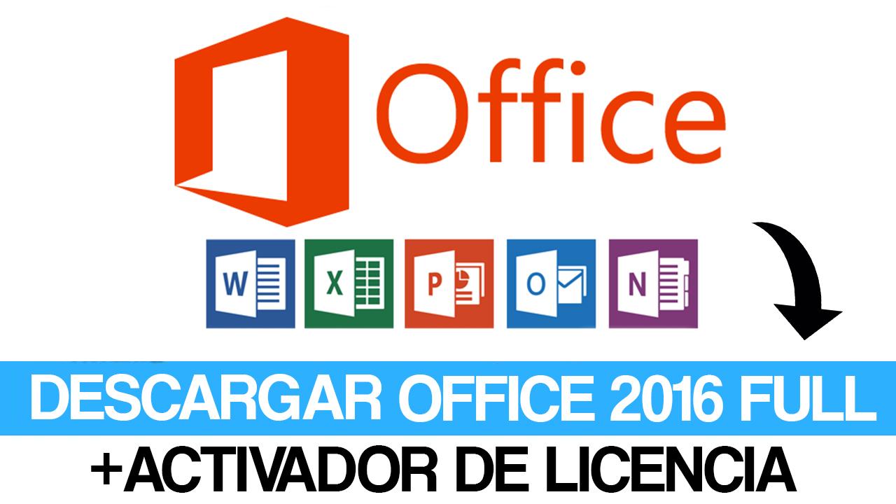 descargar office 2016 para windows 7 32 bits con activador