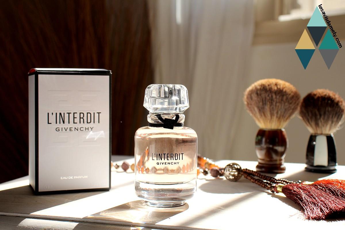 avis et revue eau de parfum l'interdit Givenchy