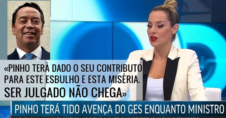 Joana Amaral Dias sobre Manuel Pinho: «Ser julgado não chega»