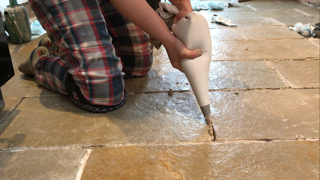 Using a Grout Bag