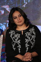 Cute Poja Gandhi in black dress at Dandupalyam 2 Movie press meet  ~  Exclusive 36.JPG
