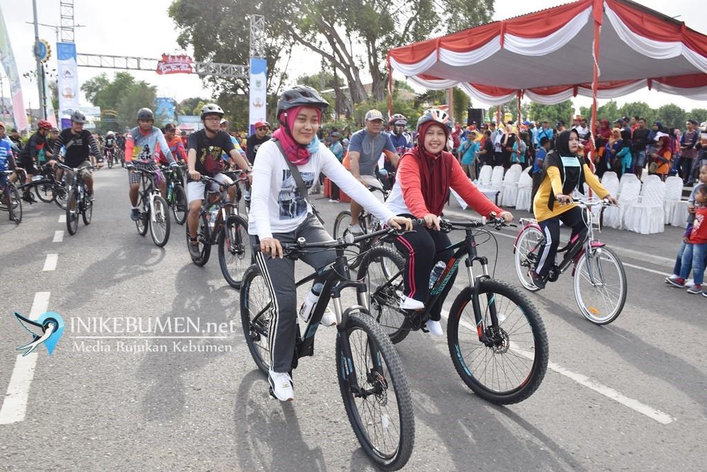 Peserta dari Luar Kebumen Meriahkan Karangsambung Geo Fun Bike