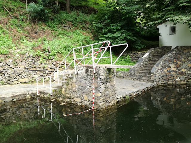 Local para saltos para a água