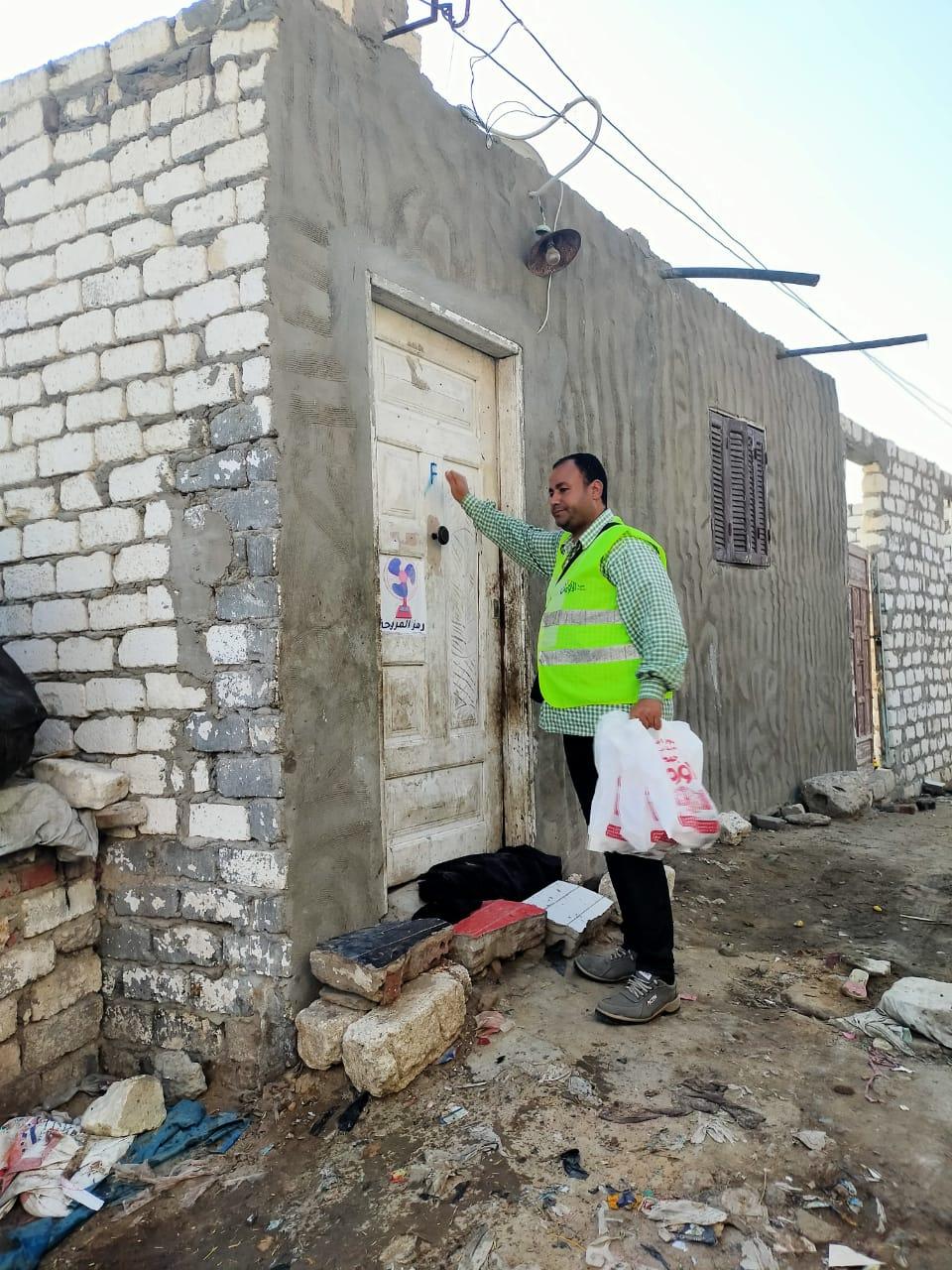 توزيع 3600 كجم  لحوم مجمدة على الأسر الأكثر احتياجا بنطاق 5 مراكز بالبحيرة