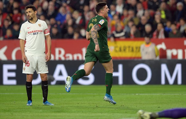 Crónica Sevilla FC 1 - Athletic Club de Bilbao 1