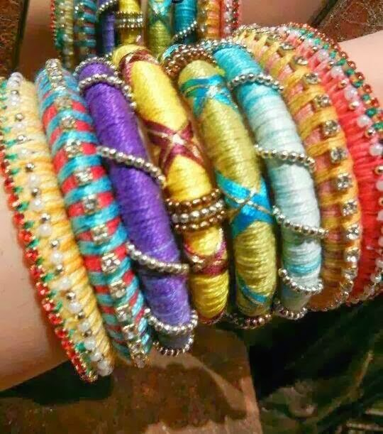 home made braceletes