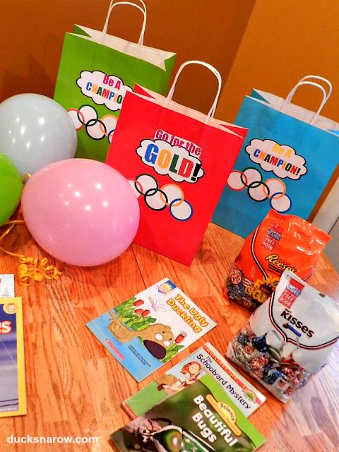 free printables, gift bag craft, kids