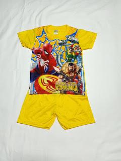 Bộ Đồ Spider Man 003 cho Bé Trai