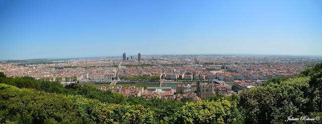 Panorama sur Lyon