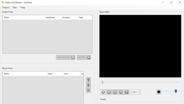 برنامج دمج / قص مقاطع الفيديو للكمبيوتر Video Edit Master