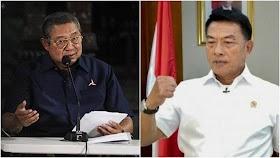 Moeldoko Mengepalkan Tinju Usai SBY Bilang Malu Pernah Tunjuk Dia Jadi Panglima TNI