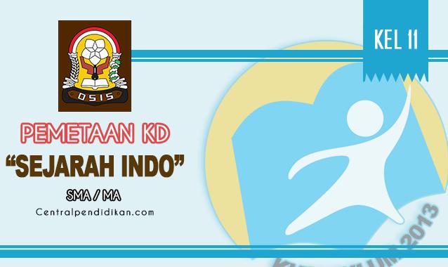 Pemetaan KD Sejarah Indonesia Kelas XI SMA Edisi 2021/2022 Terbaru