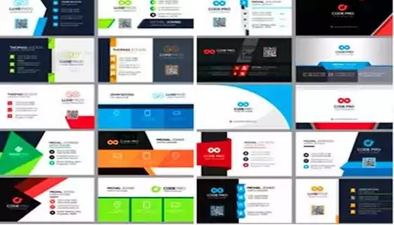 كروت شخصية | 100 كارت شخصي  مميز بصيغة  PSD لمصممي الدعاية والإعلان 100 Business Cards