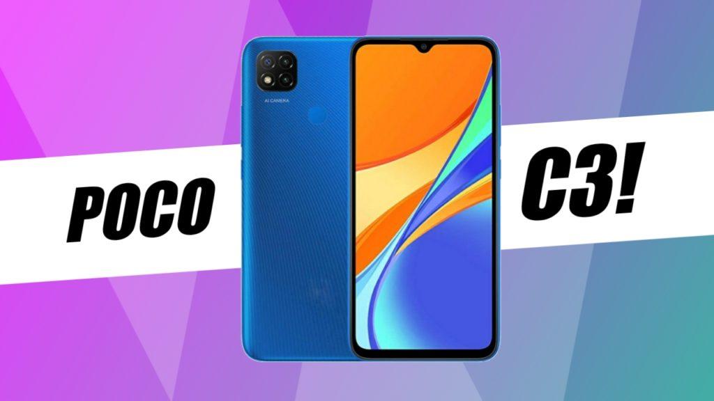 Poco ने लाया नया Poco C3, लॉन्चेड हुआ इंडिया में।
