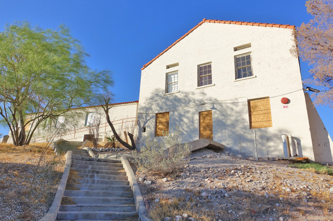 Old Boulder City Hospital in Nevada