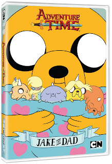 DVD Review - Adventure Time: Jake the Dad