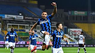 ملخص واهداف مباراة انتر ميلان وبارما (2-1) الدوري الايطالي