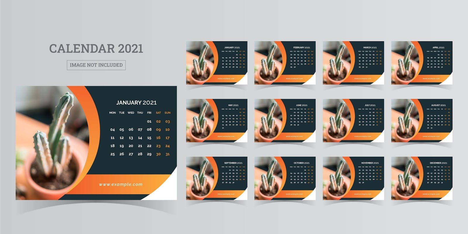 The results of the new year 2021 in more than one professional form and designs, free download