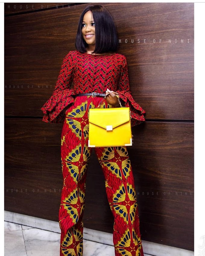 Ankara Jumpsuit Style for 2020