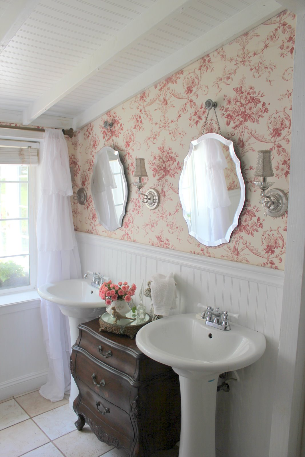 French Cottage Bathroom - FRENCH COUNTRY COTTAGE