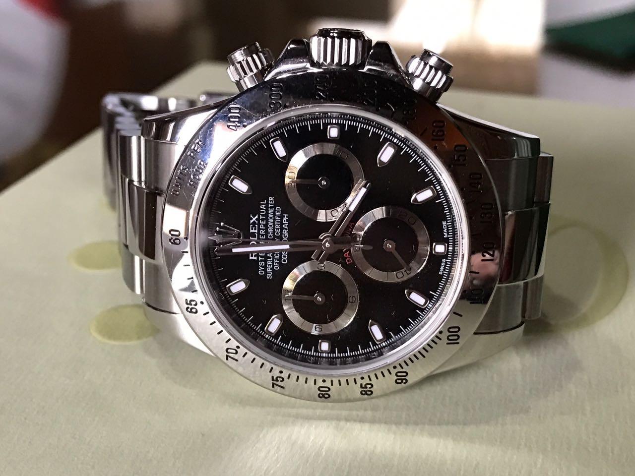 25bdfad3a85 Hong Kong Watch Fever 香港勞友  Rolex Daytona Ref 116520 On Sale