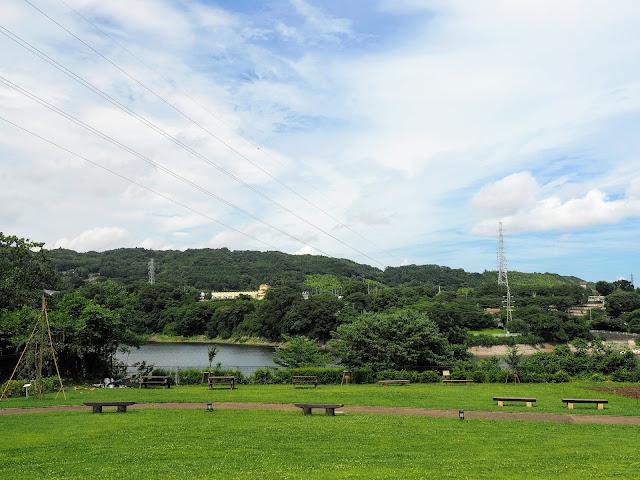 国道413号 津久井城山公園 花の苑地