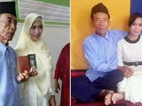 Kakek 60 Tahun Nikahi Gadis 17 Tahun, Begini Katanya Soal Malam Pertama