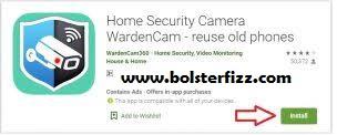 WardenCam for PC (Security Camera App 2020)